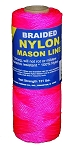 #1 BRAIDED NYLON MASON 250' PINK