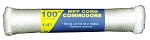 #7 COMMODORE MFP CORD 100' HANK CONNECTED