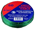 #5 X 50' GREEN VINYL CENTER CLOTHESLINE