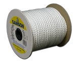 #6 NY-WITE BRAIDED CORD  475' REEL