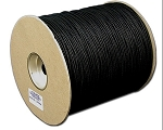 #4 BLACK SHADE CORD 1000 YD.