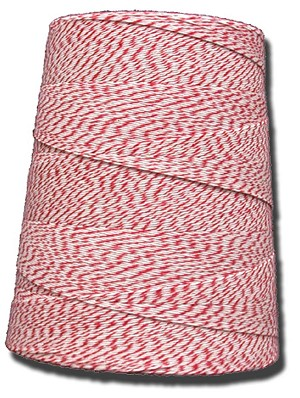4 PLY VARIEGATED RED & WHITE 2 LB. CONE
