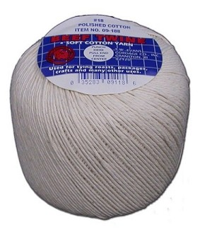 #24 COTTON TWINE 185' BALL