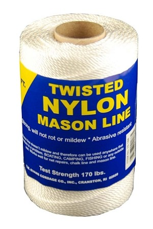 #24 TWISTED NYLON MASON LINE 625'