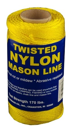 #18 NYLON MASON LINE 275' YELLOW