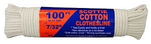 84 PIECE #7 X 100' SCOTTIE CLOTHESLINE DISPLAY
