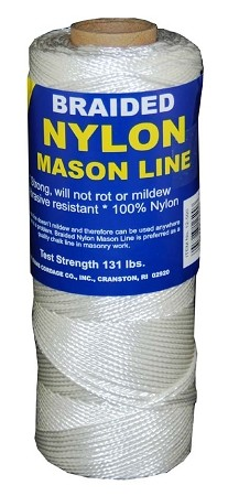 #1 BRAIDED NYLON MASON LINE 1000'
