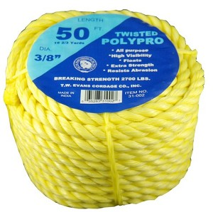 "1/2""-100' 5 STAR POLYPRO COIL"