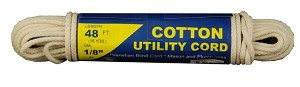 #4 1/2 COTTON UTILITY CD. 48'