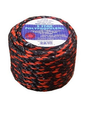 "1/2""-100' CALIFORINA TRUCK ROPE"