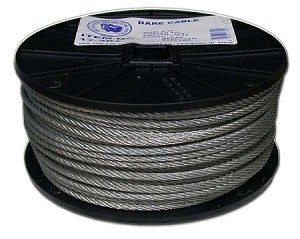"1/8""-250' BARE CABLE 7X7"