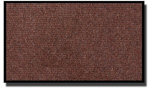 "36"" X 60"" COBBLESTONE MAT-BROWN"