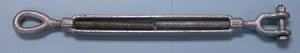 "5/16"" X 4-1/2"" JAW/EYE GALVANIZED TURNBUCKLE"