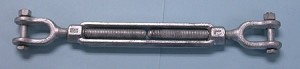 "3/4"" X 12""JAW/JAW GALVANIZED TURNBUCKLE"