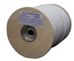 "3/4"" X 120' TWISTED NYLON SPOOL"